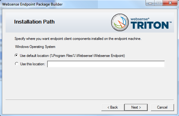 how to uninstall websense endpoint