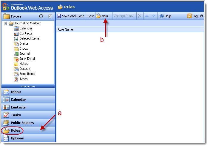 Set Up Server Side Forwarding Rule On Journaling Mailbox