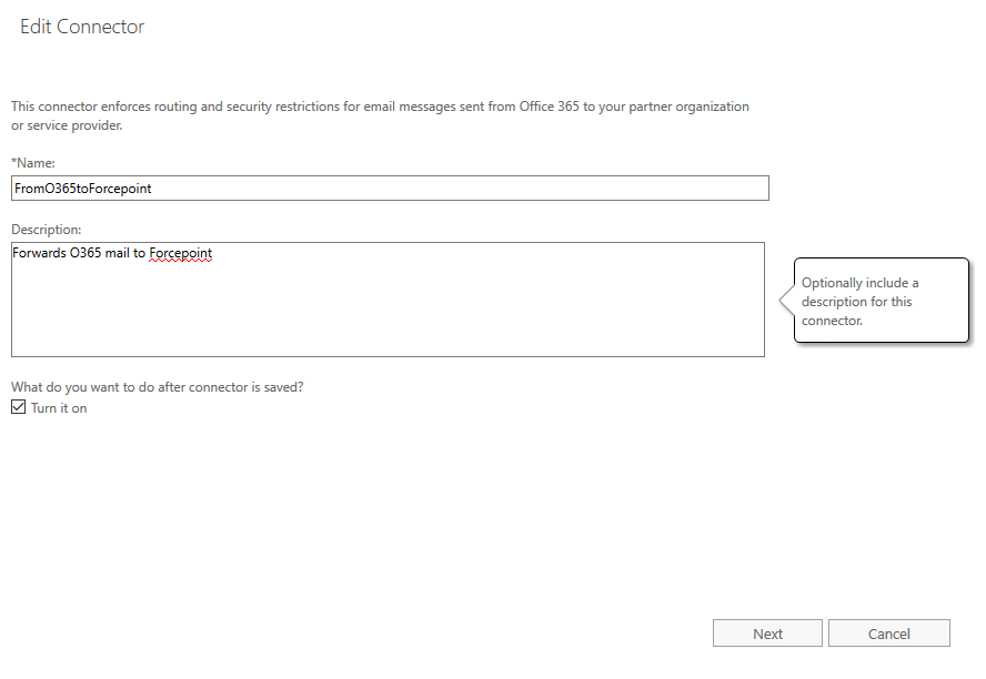 Configure mail flow in Office 365