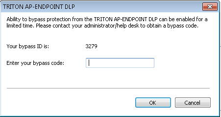How to disable TRITON AP-ENDPOINT DLP