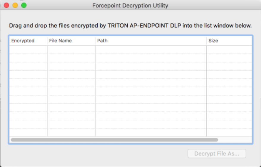 Decrypting files on Mac