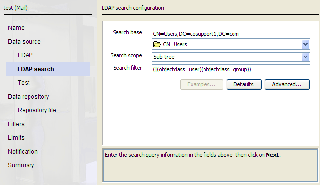 Step 4 Setting Up The Ldap Search Configuration