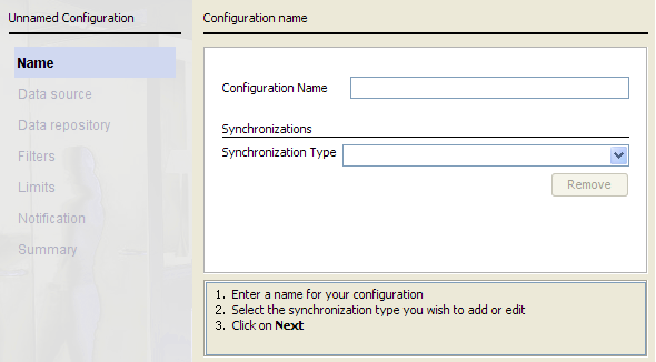 Step 1: Starting your configuration