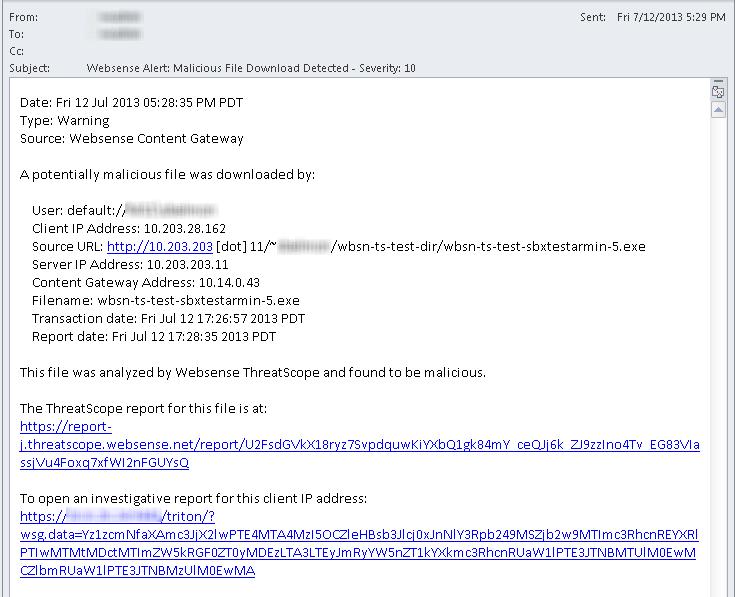 Security threats: File analysis