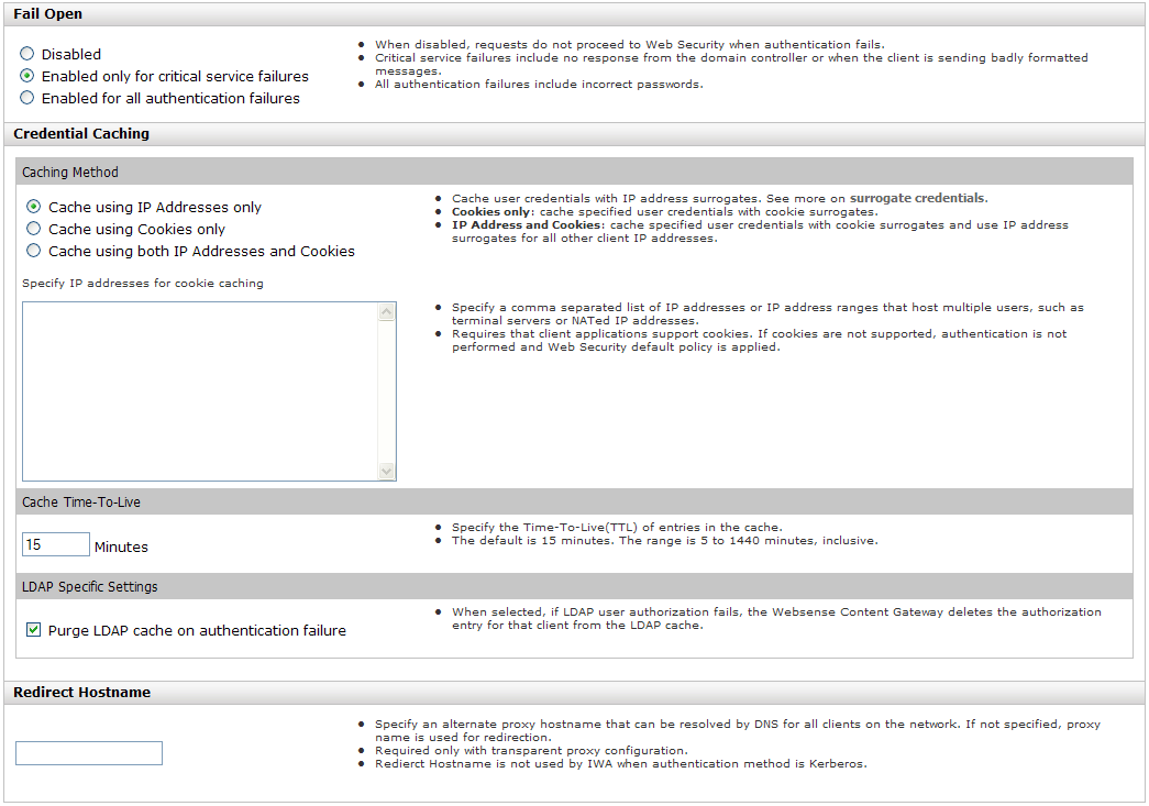 New in Websense Content Gateway v7 8 1