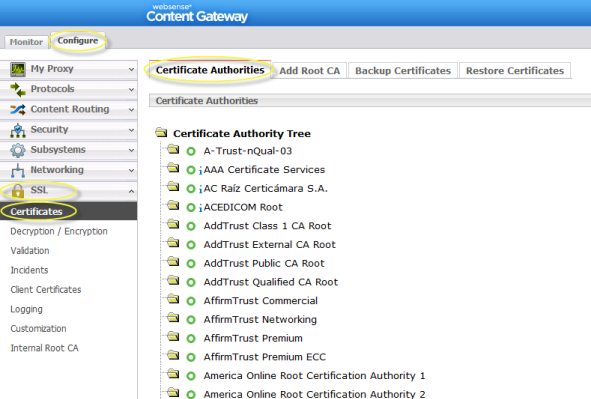 Certificate Verification Failures and Remediation Options