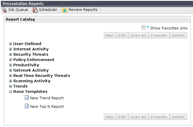 Use templates to create a custom presentation report – A Report Template